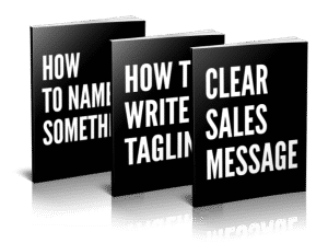 Clear Sales Message Books