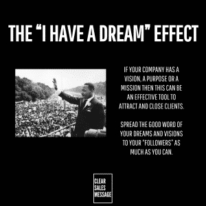 i have a dream effect