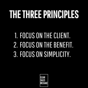 THE THREE PRINCIPLES